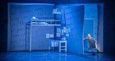 Matilda the Musical, Malmö Opera Directed by Elisabeth Linton / Set design by Palle Steen Christensen Set Design Theatre, Theatre Geek, Stage Set, Blue Box, Romeo And Juliet, Matilda, Lighting Design, Bedroom Ideas, Opera