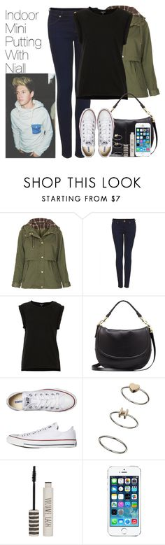 """""""mini putting with niall"""" by onedirectionimagineoutfits99 ❤ liked on Polyvore featuring Topshop, Mulberry and Converse"""