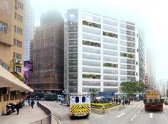 MVRDV converts hong kong warehouse into lofted workspaces - designboom   architecture & design magazine