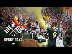 Battle of Cascadia - Portland Timbers vs Seattle Sounders | Derby Days - YouTube