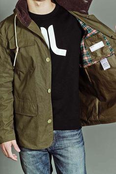 WESC Daquan Jacket - Ivy - $130