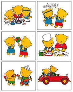 Pro Šíšu: Medvedi silenstvi... Medan, Sequencing Pictures, Speech Therapy, Clipart, Diy For Kids, Free Printables, Diy And Crafts, Preschool, How To Plan