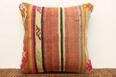 Kilim Pillow/Cushion Cover 12 x 12 Antique by kilimwarehouse, $33.00
