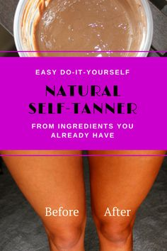 DIY All Natural Self-Tanning Lotion - Blissful Bohemian
