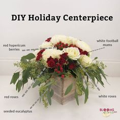 Check out the newest video on our blog to learn how to make this DIY Holiday Centerpiece using our new Holiday Pack!