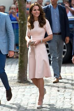 Catherine Duchess of Cambridge arrives at Truro Cathedral during a royal visit to Cornwall on September 1 2016 in Truro United Kingdom