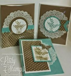 layouts only using SU paper doilies(Nov 4, 2014)