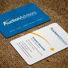 Freelance startup needs business cards as awesome as the company business card design needed for auction company by artomorosigns reheart Image collections