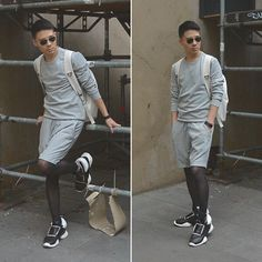 My Top Street Fashion Styles Tights Outfit, Leggings Fashion, Unisex Fashion, Mens Fashion, Street Fashion, Mens Leotard, Men Wearing Skirts, Top Street Style, In Pantyhose
