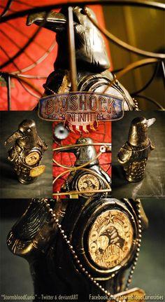 BioShock Infinite fan crafts real-life Vigor bottles