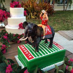 Grooms cake #rolltide #destinationwedding #wedding