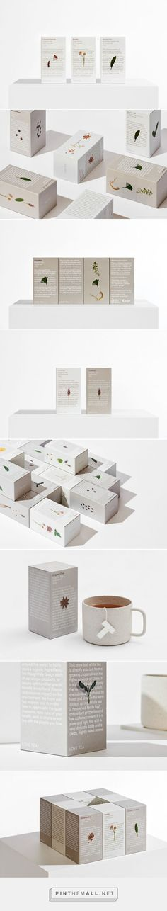 Love Tea Packaging by The Company You Keep | Fivestar Branding Agency – Design and Branding Agency & Curated Inspiration Gallery