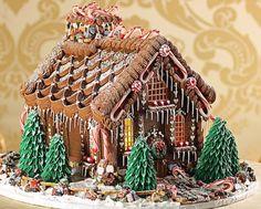 gingerbread house; www.gingerbreadjournal.com; Kathleen Lange, The Confectionary Chalet
