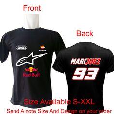Marc Marquez #93 T-Shirt    #marcmarquez #marquez93