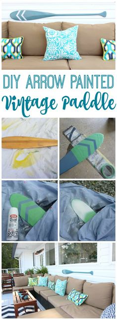 DIY Arrow Painted Vi