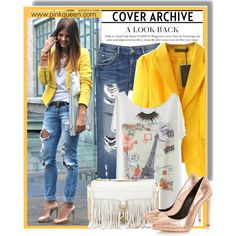 Designer Clothes, Shoes & Bags for Women Yellow Blazer, Get The Look, Ripped Jeans, Dune, Rebecca Minkoff, Zara, Street Style, Style Inspiration, Casual