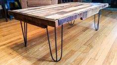Coffee Table made from Reclaimed/Upcycled by OneLessWoodworks