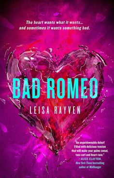 Bad Romeo by Leisa Rayven. Loved! The 2nd book Broken Juliet comes out in a few days. Can't wait!