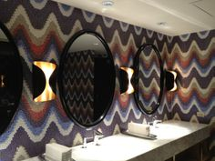 SICIS 'Up and Down' pattern, customized by SLDesign for Azure by Allegretti Restaurant at Revel Resort and Casino, Atlantic City