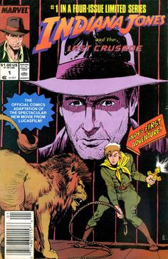 Indiana Jones and the Last Crusade #1 marvel Comics