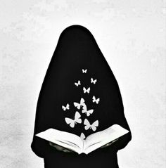 With the quran your heart feels peace Hijab Dp, Hijab Niqab, Muslim Hijab, Mode Hijab, Muslim Images, Islamic Images, Islamic Art, Arab Girls, Muslim Girls