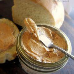 1/2 stick butter, ~ 1/3 C powdered sugar, ~ 1/3 C honey, cinnamon to taste.