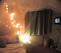 Inspiring picture beautiful, bed, creative, curtain, cute. Resolution: 500x332 px. Find the picture to your taste!
