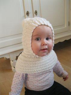 Tyk elefanthue til vinter - og opskrift på en tyndere til forår/efterår. Knitting For Kids, Knitting For Beginners, Crochet For Kids, Diy Crochet, Baby Knitting, Crochet Beret, Crochet Baby Hats, Crochet Clothes, Baby Kids Wear