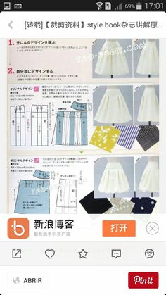Amazing Sewing Patterns Clone Your Clothes Ideas. Enchanting Sewing Patterns Clone Your Clothes Ideas. Fashion Sewing, Diy Fashion, Sewing Clothes, Diy Clothes, Tao, Clothing Patterns, Dress Patterns, Circle Skirt Tutorial, Japanese Sewing Patterns