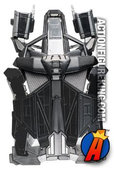 Top view of this Dark knight Rises The Bat vehicle from Hot Wheels.