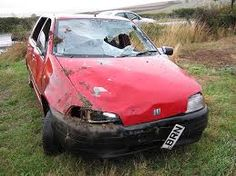 fiat punto crashed - Google Search