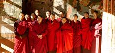 The monks of Bhutan. Want to hang with them. Talk about spiritual things.