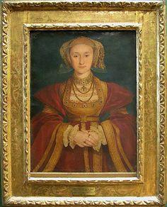 Hans HOLBEIN dit le Jeune Augsbourg, 1497 - Londres, 1543 -  Anne de Clèves (1515 - 1557)