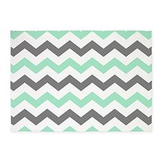 Bathroom Rugs Ideas Cafepress Mint And Gray Chevron Pattern Decorative Area Rug 5x7 Throw
