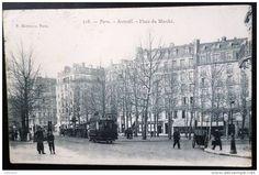 PARIS-AUTEUIL PLACE DU MARCHE, 1905