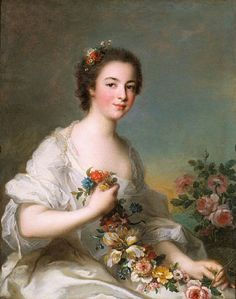 Portrait of a Lady - Jean-Marc Nattier - 1738