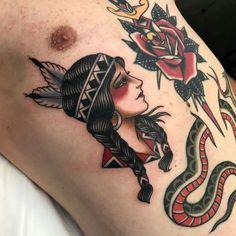 b7b5f88b26dc8 traditional indian lady tattoo, traditional tattoo, traditional lady tattoo  - #indian #lady #tattoo #traditional