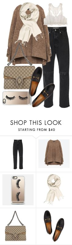 """""""Untitled #22277"""" by florencia95 ❤ liked on Polyvore featuring Christopher Kane, Casetify, Gucci and Eberjey"""
