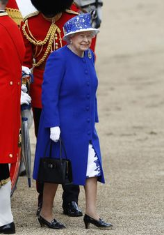 The Queen attends Trooping the Colour ceremony on Horse Guards Parade in central London 06-15-2013