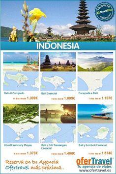 #Indonesia Reserva en tu Agencia Ofertravel más próxima. Tel. 955831050. www.ofertravel.es