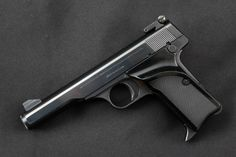 """Fabrique Nationale FN Browning Model 10/71 (1910 / 1922 / 1971), Blue 4 ½"""" - Semi-Automatic Target Pistol, MFD 1971 - Picture 4"""