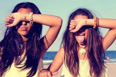 best friends at da beach ~