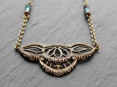 Kette - Victorian Vintage von Perlenfontäne auf DaWanda.com