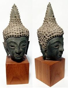 Ancient Asian Buddhas and Statues