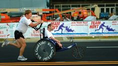 Team Hoyt Has Supporters Around the World as They Compete