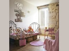 Chambre enfant style campagne chic