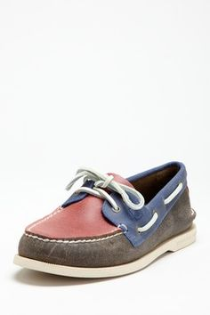 Sperry Top Sider- Multi Color Panel Boat Shoe