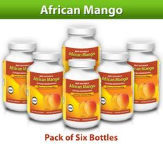 Best Naturals Natural African Mango with Green Tea, 500 mg, 60 Vcaps (Pack of 6)