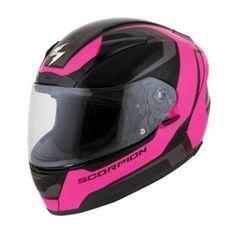 SCORPION - Women's EXO-R2000 Dispatch Full-Face Motorcycle Helmet - Full-Face - Street - Helmets - Women's - Cycle Gear