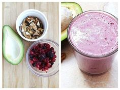 Juice Smoothie, Smoothies, Fruits And Vegetables, Acai Bowl, Natural Remedies, Oatmeal, Health Fitness, Vegan, Drinks